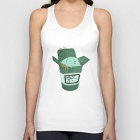 pasta Tank Tops featuring Pasta Pudding by Luna Aldrin