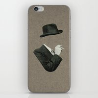 smoke iPhone & iPod Skins featuring Smoke by Lerson