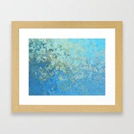 Gold-Laced Cascade Framed Art Print