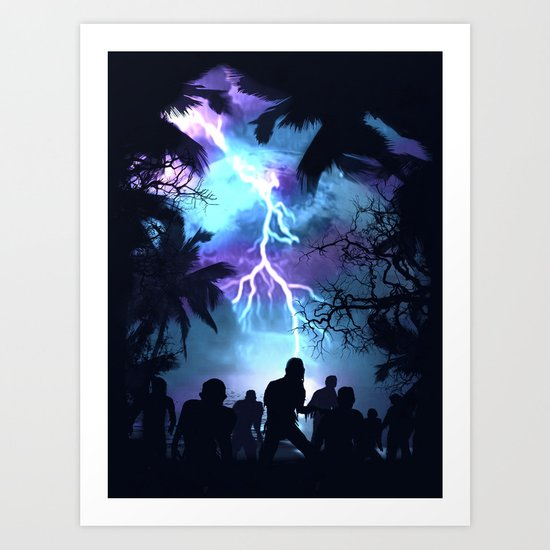 Stormy Night Art Print