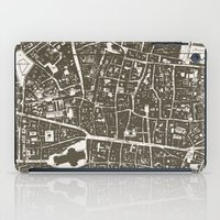 london map iPad Cases featuring London Map by Zeke Tucker