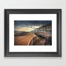 Hastings At Sunset Framed Art Print