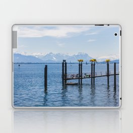 Bodensee and Alp Mountains Laptop & iPad Skin