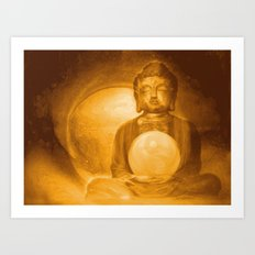 Buddha -For all eternity  Art Print
