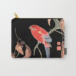 Red Parrot A Carry-All Pouch