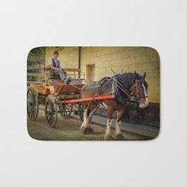 Horse And Cart Bath Mat