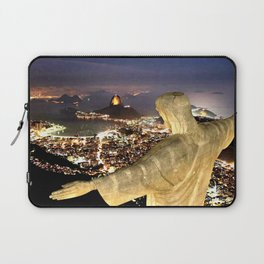 Christ the Redeemer ✝ Statue  Laptop Sleeve