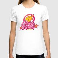 racing T-shirts featuring Chocobo Racing by Faniseto