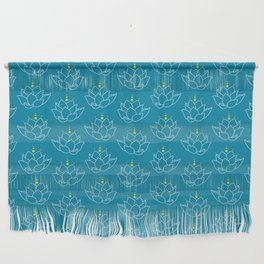 Water Lilies Wall Hanging