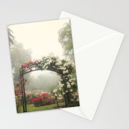 Blooms In Fog III Stationery Cards