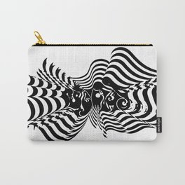 Psycho wave clear Carry-All Pouch