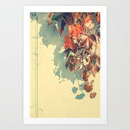 Grapes of Autumn Art Print