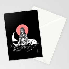 The Mermaid Emerges Stationery Cards