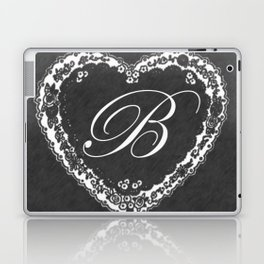 B Vintage Valentine Chalkboard Laptop & iPad Skin