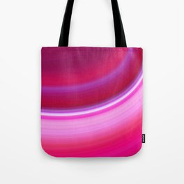 Curve in Pink Tote Bag