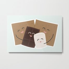 Group Hug! Metal Print