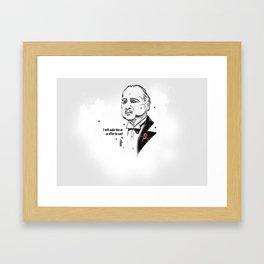 Heroes - The Diplomat Framed Art Print