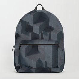 Concrete Abstract Backpack