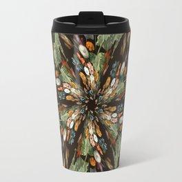 Flemish Floral Mandala 3 Travel Mug