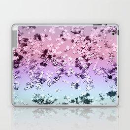 Unicorn Girls Glitter Stars #1 #shiny #pastel #decor #art #society6 Laptop & iPad Skin
