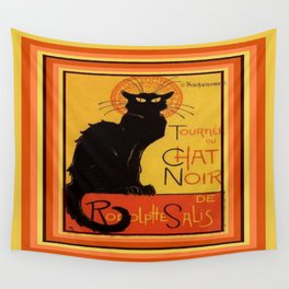 Tournee Du Chat Noir - After Steinlein Wall Tapestry