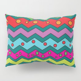 Colors Zigzag Too Pillow Sham