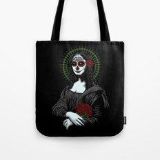 Viva La Mona Muerte Lisa Tote Bag