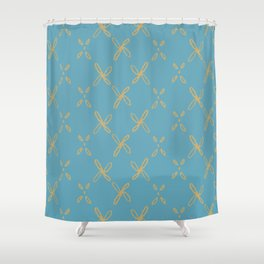 Abstract Astral Pattern Shower Curtain