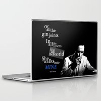 casablanca Laptop & iPad Skins featuring Gin Joints by Ralf Crawford