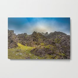 Lost in mountains Carrantouhill | Ireland Metal Print