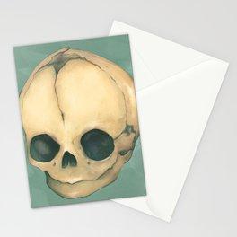 Foetus Skull Stationery Cards