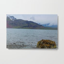 In the Fjords Metal Print