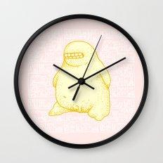 Golden Boy Wall Clock