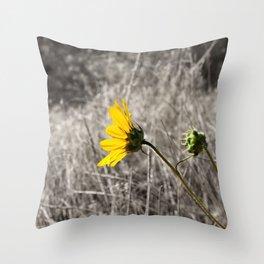Sunflower Daydream Throw Pillow