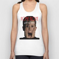 home alone Tank Tops featuring Home Alone by Darius Malone