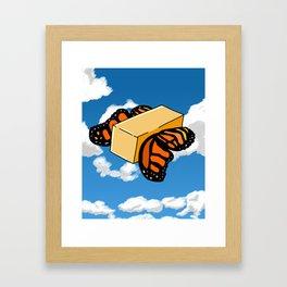 Butter Flys Framed Art Print