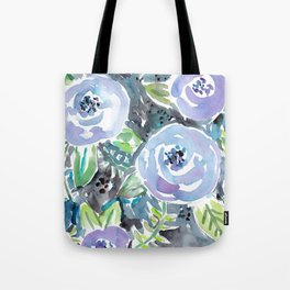 GARDENS OF MONTCLAIR Lavender Floral Tote Bag