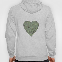Rain in the Forest Camouflage Pattern Hoody