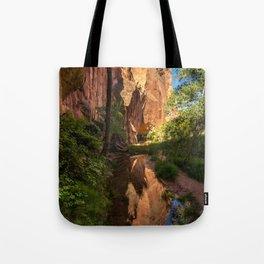 Coyote Gulch Canyon Reflection - Utah Tote Bag