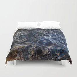 Jupiter Blues Duvet Cover