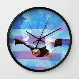America - Freedom! Wall Clock