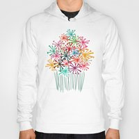 matisse Hoodies featuring Flower Bouquet by Picomodi