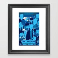 Breaking Bad (blue version) Framed Art Print