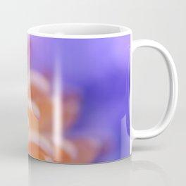 Flower Sunrise | cute pastel flower, peach flowers, orange floral pattern, pretty petals, macro Coffee Mug