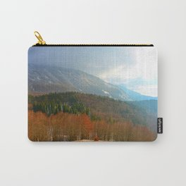 Landscape with snow Carry-All Pouch