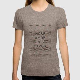 More Amor Black & Red T-shirt