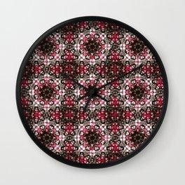 Oriental Ornate Pattern Wall Clock