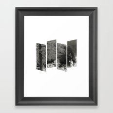 Coulrophobia Woods Framed Art Print