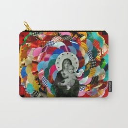 Maria (mãe de Jesus) Mary (mother of Jesus) #1 Carry-All Pouch