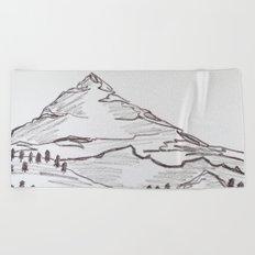 Mountain Madness, No. 7 Beach Towel